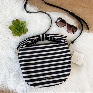 Kate Spade Haring Lane Jeny Striped Crossbody Bag